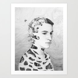 Self-Portrait: Human Nature Art Print
