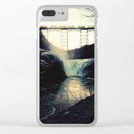 trestle dusk Clear iPhone Case