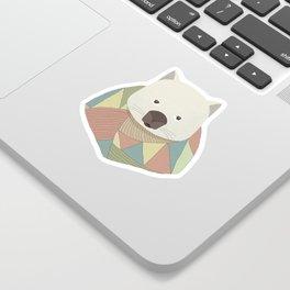 Whimsical Wombat Sticker