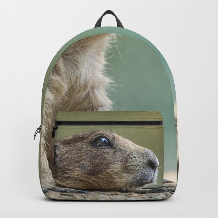 Praire dog sitting in the sun Backpack