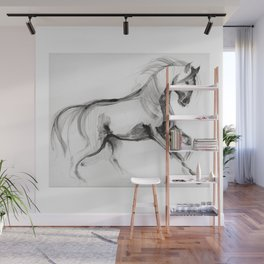Horse (Storm, raw version) Wall Mural