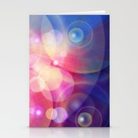 the lights Stationery Cards featuring lights by haroulita