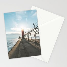 Grand Haven Lighthouse Stationery Cards