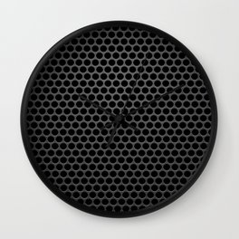 Perforated Pattern Wall Clock