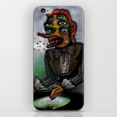 The Eye in the Ointment iPhone & iPod Skin