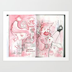 Bender Transgender - #1 Red Rumor  Art Print