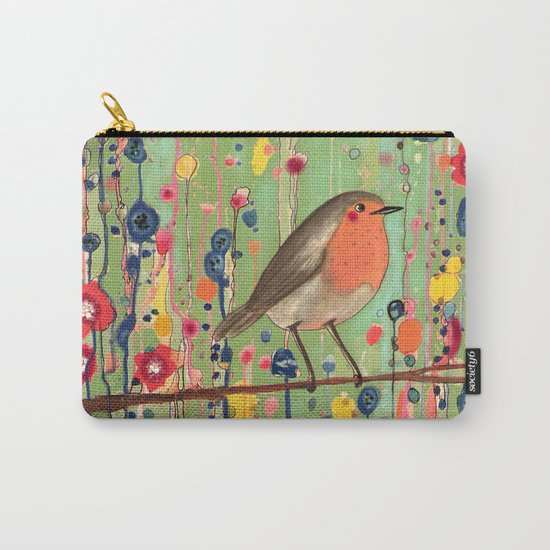 je ne suis pas qu'un oiseau revisited Carry-All Pouch
