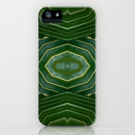Kaleido Palm III iPhone Case