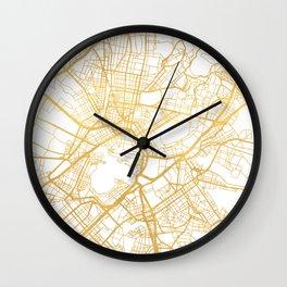 ATHENS GREECE CITY STREET MAP ART Wall Clock