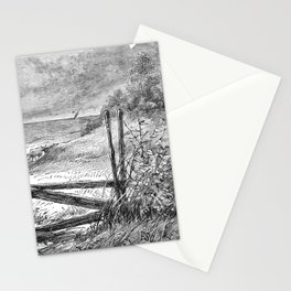 A Bit of Sunshine (1879) - What a bright afternoon it was Stationery Cards