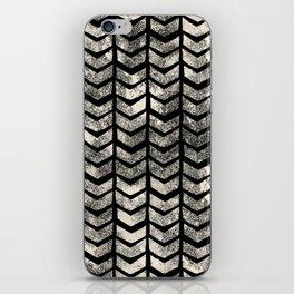 Ink Brush Chevron iPhone Skin