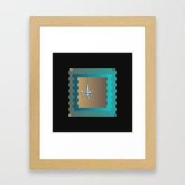 Candlestick Framed Art Print