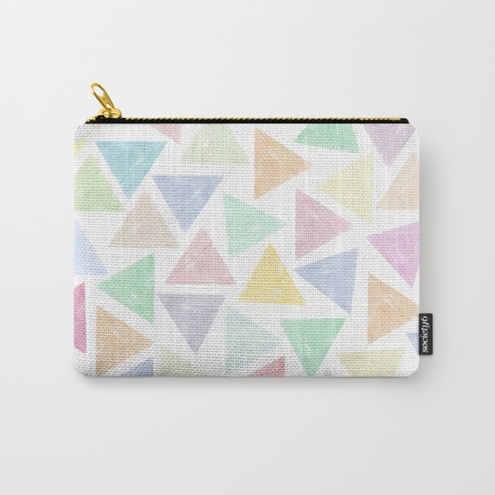 Colorful Geometric Patterns Carry-All Pouch