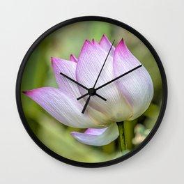 Lotus flower Wall Clock