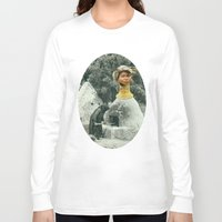 chef Long Sleeve T-shirts featuring Head Chef by Peter Campbell