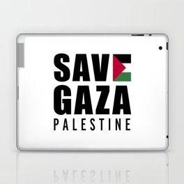 Save Gaza Quote Laptop & iPad Skin