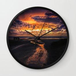 Sauble Beach Art Decor. Wall Clock