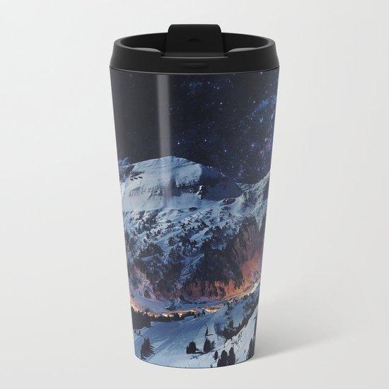Magical Mountain Metal Travel Mug