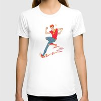 sneakers T-shirts featuring Electric sneakers by Earl Grey Warden