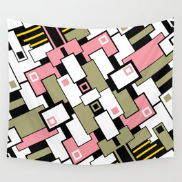 C13D GeoAbstract 2 Wall Tapestry