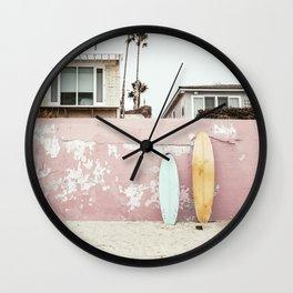 Vacay Wall Clock