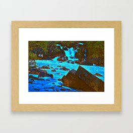 Meeting of the Waters Framed Art Print