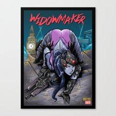 The Amazing Widow Maker #1 Canvas Print
