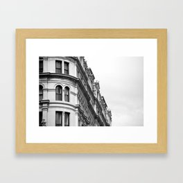 philadelphia architecture Framed Art Print