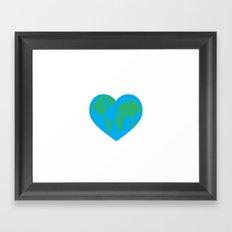 Earth Love Framed Art Print
