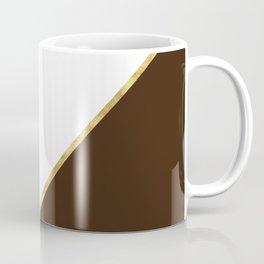 Autumn Brown Gold Coffee Mug