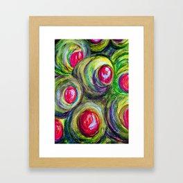 Olives in a Jar Framed Art Print