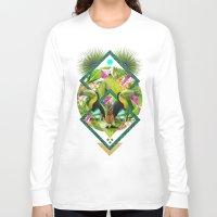 kris tate Long Sleeve T-shirts featuring ▲ TROPICANA ▲ by KRIS TATE x BOHEMIAN BLAST by ▲ BOHEMIAN BLAST ▲