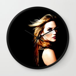 Kate Winslet - Celebrity Art Wall Clock