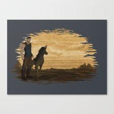 Loyal Companion Canvas Print