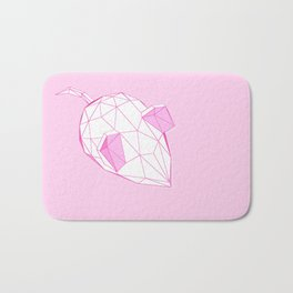 geometric mighty mouse Bath Mat
