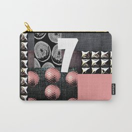 PALE PINK #THE 7 Carry-All Pouch