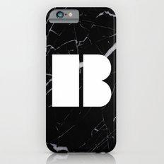 Black Marble - Alphabet B Slim Case iPhone 6s