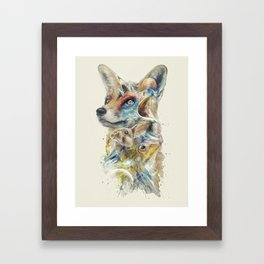 Heroes of Lylat Starfox Inspired Classy Geek Painting Framed Art Print