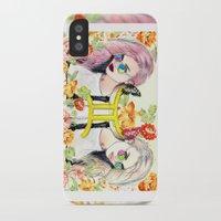 gemini iPhone & iPod Cases featuring Gemini by Sara Eshak