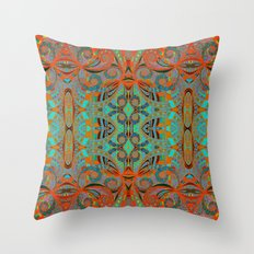 Ethnic Style G250 Throw Pillow