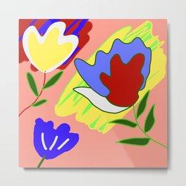 painting roses Metal Print