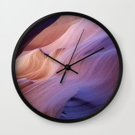 Antelope Canyon #1 Wall Clock