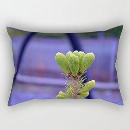 budding spruce Rectangular Pillow