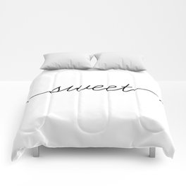 sweet dreams (1 of 2) Comforters