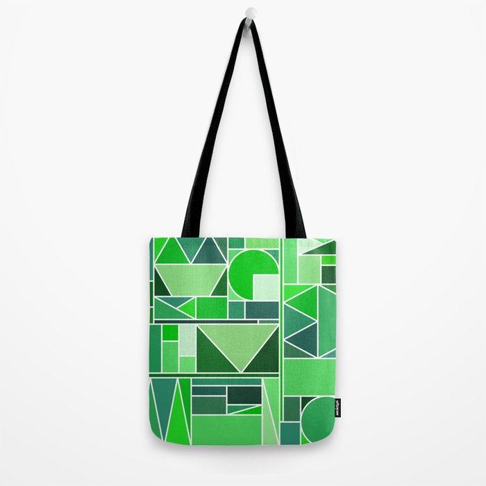 Kaku Green Tote Bag