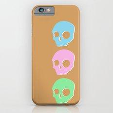 pastel skull iPhone 6s Slim Case