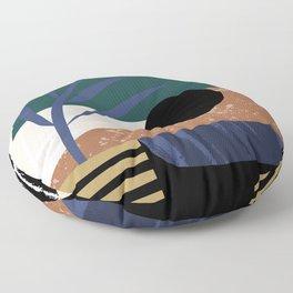Sunset I Floor Pillow