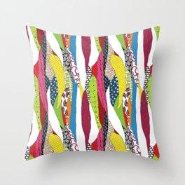 Patchwork pattern Throw Pillow