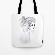 The Girl // Fashion Illustration Tote Bag