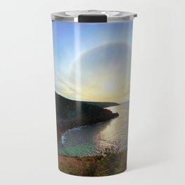 Leave nothing, but your footprints series Travel Mug